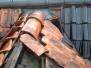 Reparatie stormschade dak te Hallum